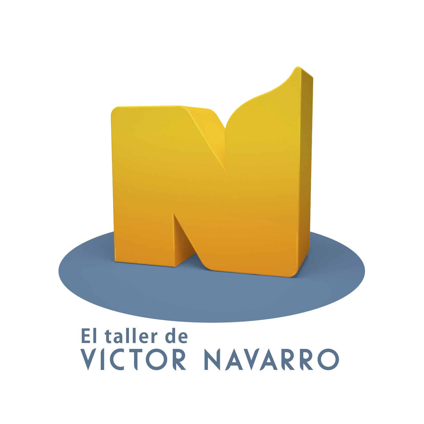 El taller de Víctor Navarro
